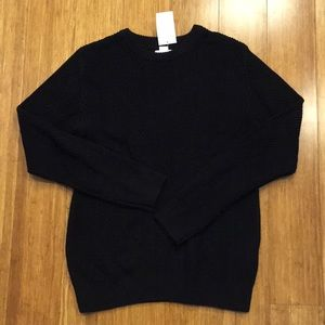 H&M Black Knit Sweater